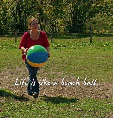 1 beach ball