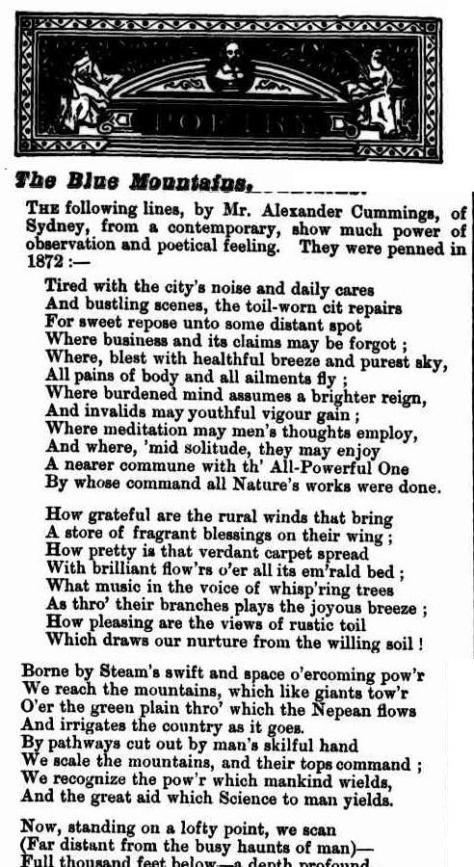 Illustrated Sydney News (NSW - 1853 - 1872), Saturday 23 April 1881