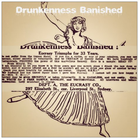 DRUNKENNESS BANISHED