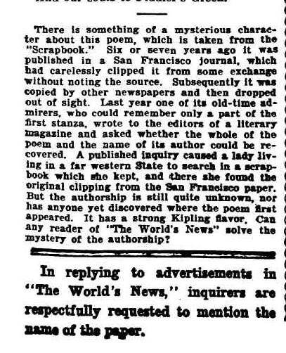 The World's News (Sydney, NSW - 1901 - 1955), Saturday 5 March 1910,  2