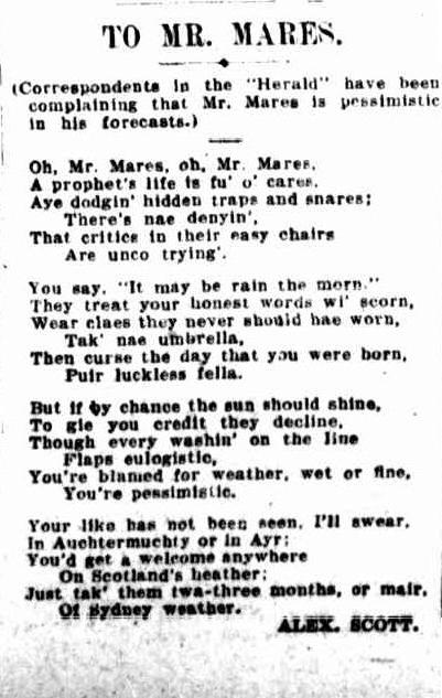1 1 1 1  The Sydney Morning Herald (NSW - 1842 - 1954), Saturday 11 June 1927,