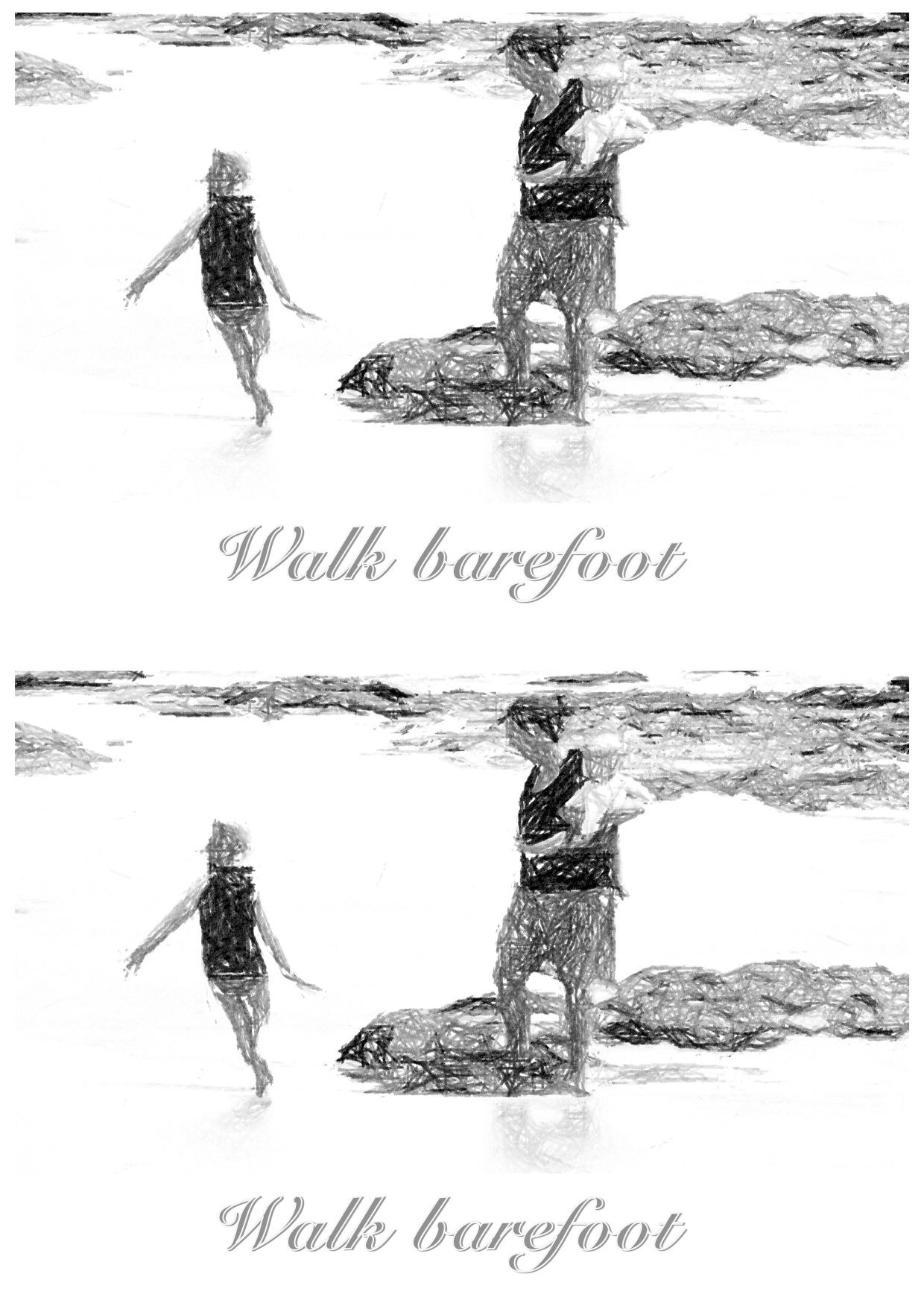 GO BAREFOOT NOW AND THEN