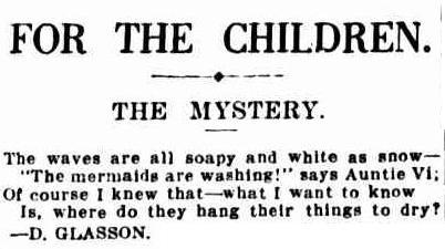 1 1 1 1 1 1 1 The Sydney Morning Herald (NSW - 1842 - 1954), Saturday 17 December 1927