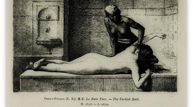 The one who enters a Turkish bath sweats.