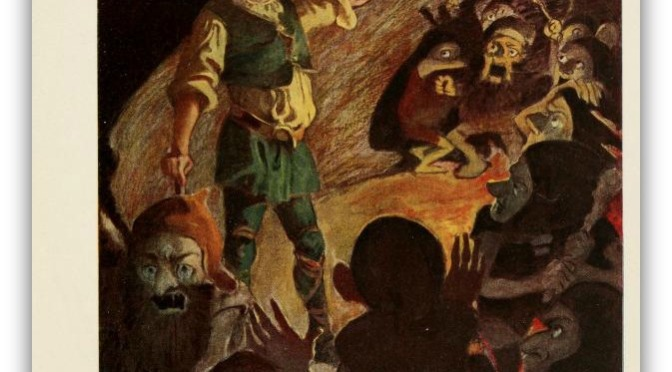 """Escaping goblins to be caught by wolves!"" he said, and it became a proverb, though we now say 'out of the frying-pan into the fire' in the same sort of uncomfortable situations.""   ― J.R.R. Tolkien, The Hobbit"