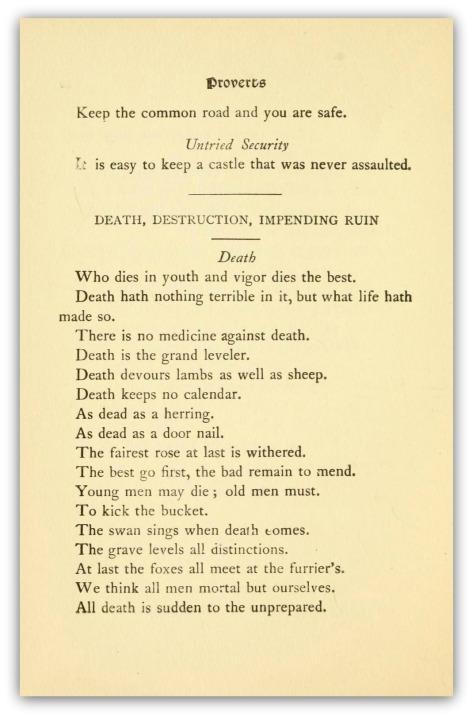 death proverbsmaximssh00bech_0062