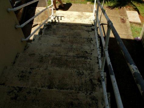 0 steps pm