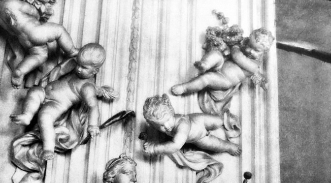 Some people might call them cherubs, although there was nothing rosy-cheeked about them.