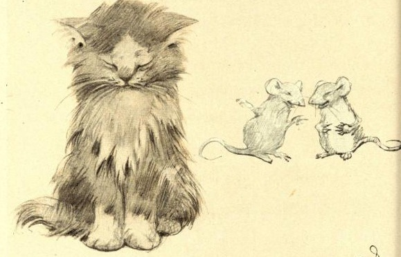 Boldness hath a startling strength ; the mouse may fright a lion.