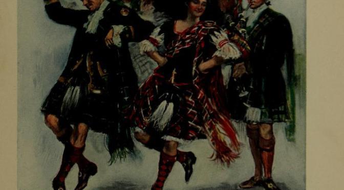 Twelve highlanders and a bagpipe make a rebellion.