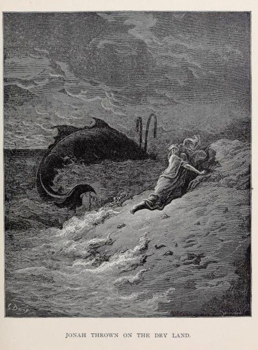 """I have spoken of Jonah, and of the story of him and the whale. A fit story for ridicule, if it was written to be believed; or of laughter, if it was intended to try what credulity could swallow; for, if it could swallow Jonah and the whale it could swallow anything.""   Thomas Paine, The Age of Reason"